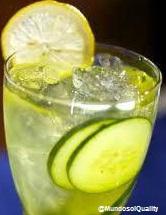Pepino con limón