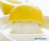Zumo de limón propiedades