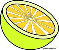 Limón en la cara