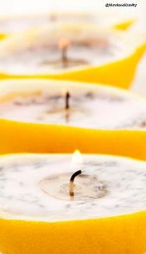 Velas limón